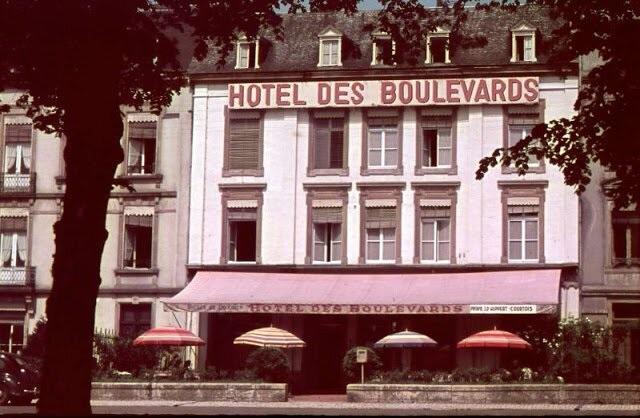 Редкие цветные фотографии послевоенного Люксембурга 1947 года