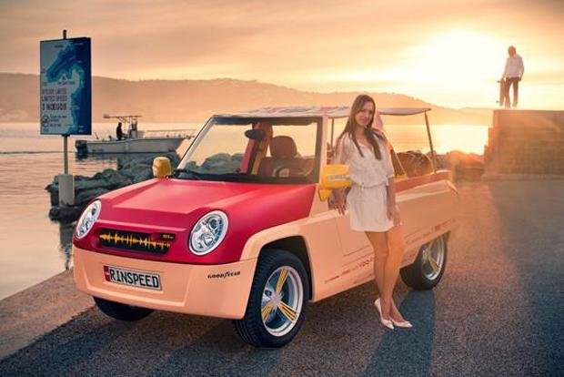 Rinspeed BamBoo — первый в мире интернет-автомобиль