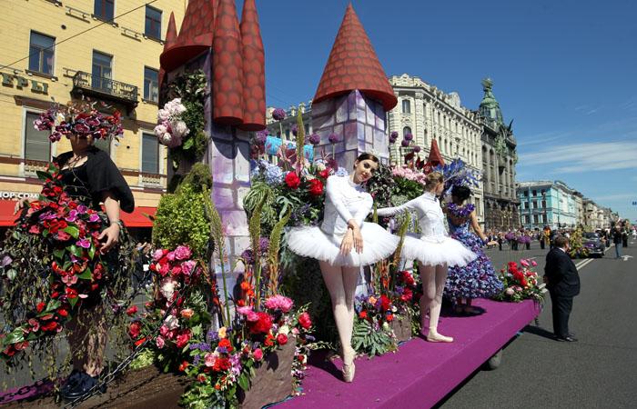 Самые необычные тематические парады России