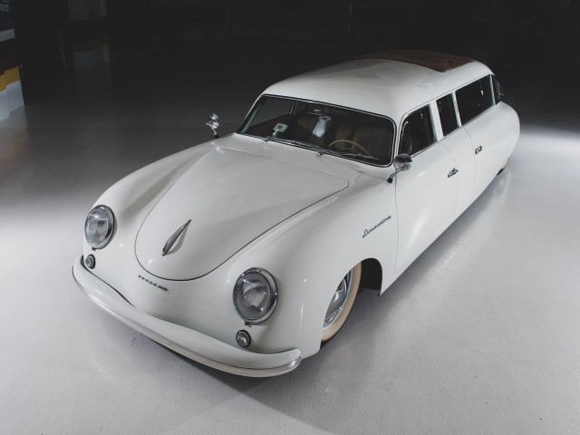 Уникальный лимузин из Porsche 356
