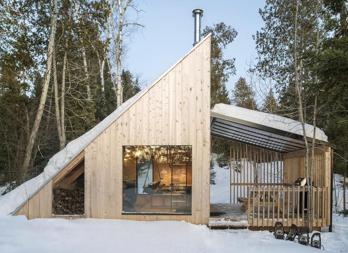 Загородный дом для отдыха в Канаде