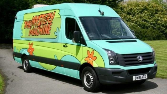 Фургон из мультфильма «Скуби Ду» выставили на продажу