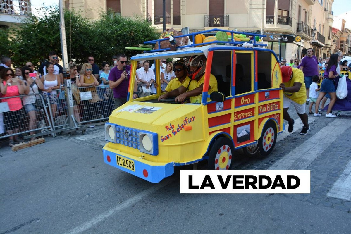 Гонки на безумных автомобилях «Los Dormis» прошли в Испании