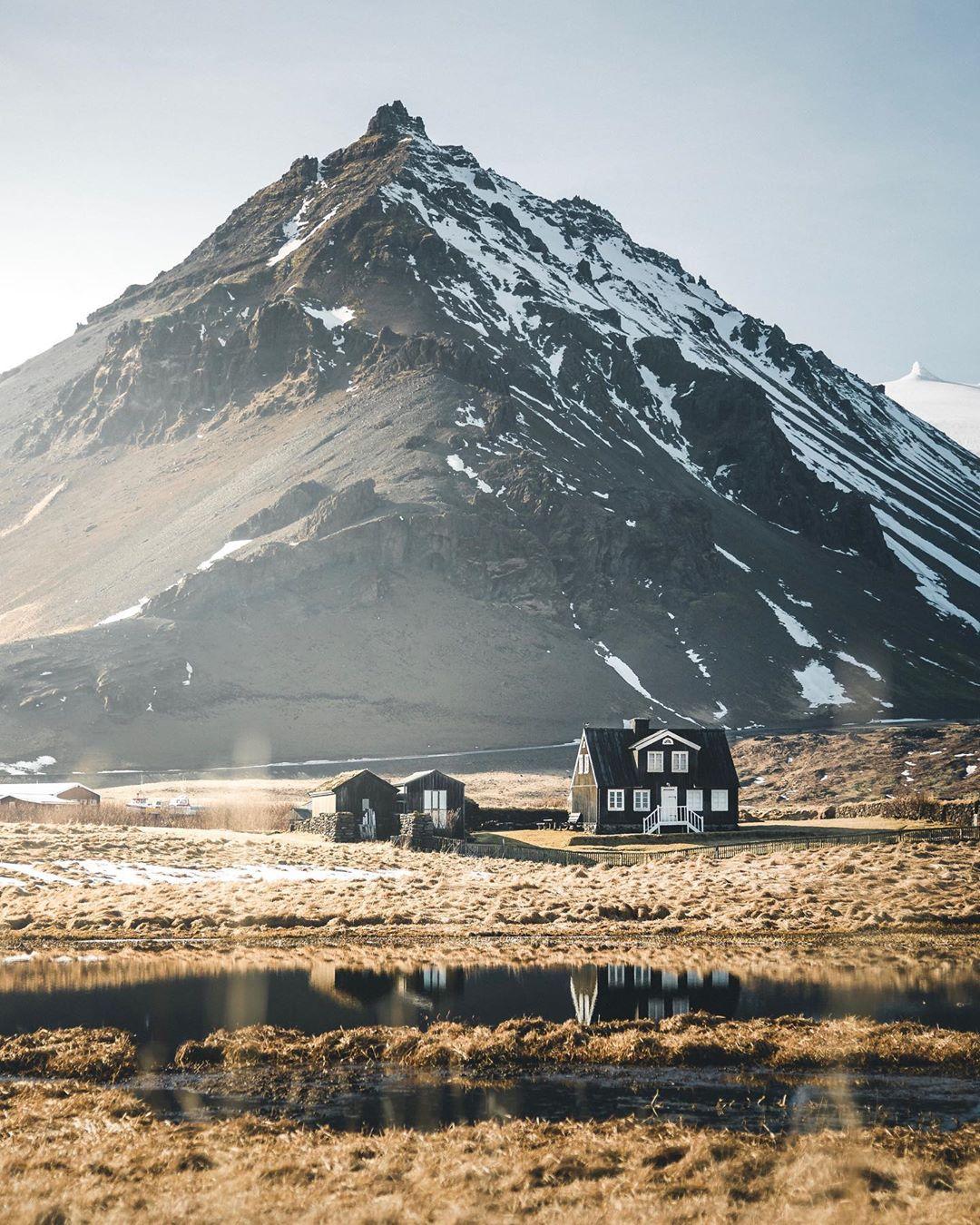 Горные пейзажи и путешествия на снимках Моргана Бодета
