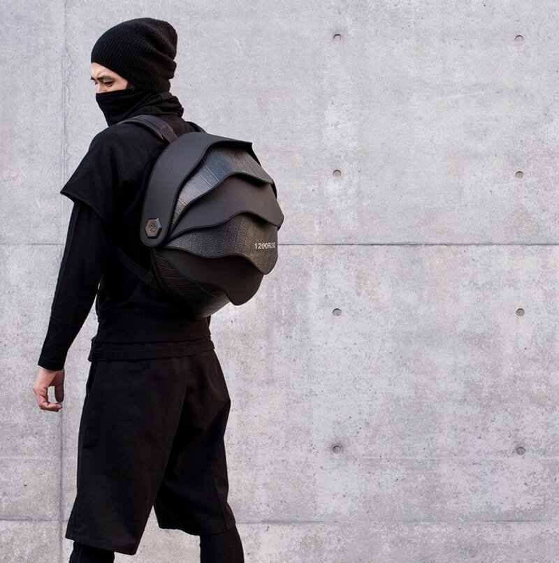 Рюкзак из переработанных покрышек от дизайнеров из Колумбии