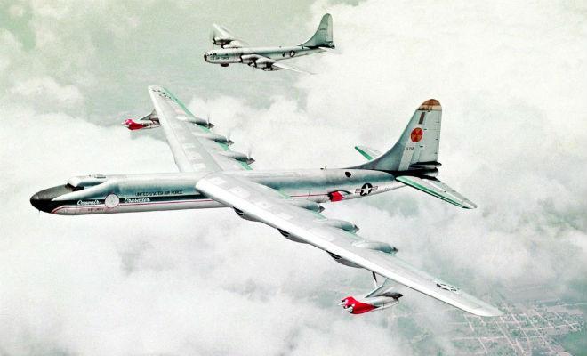 Секретный ядерный бомбардировщик из 50-х