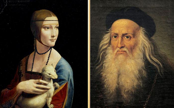 Тайны на картине Леонардо да Винчи «Дама с горностаем»