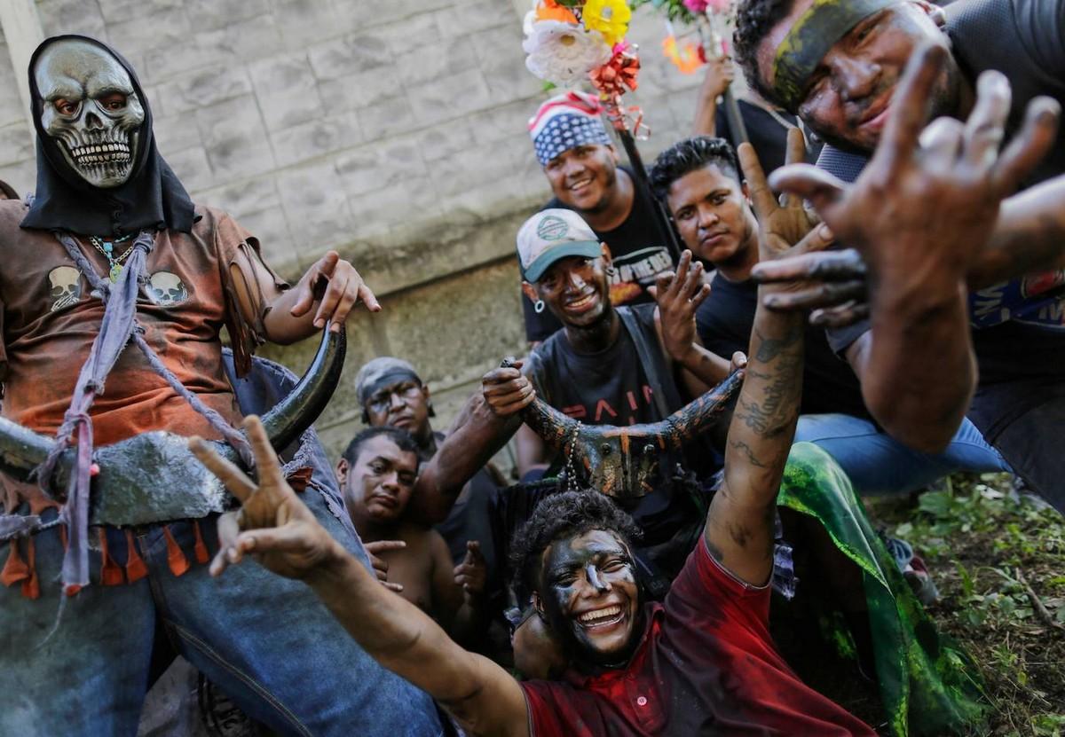 В Никарагуа прошло традиционное шествие «черных бесов»