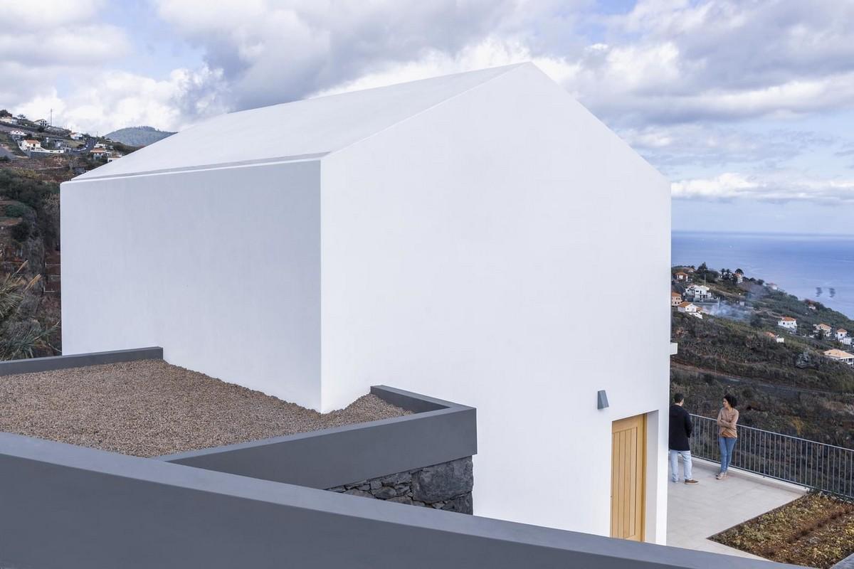 Белый дом на острове Мадейра
