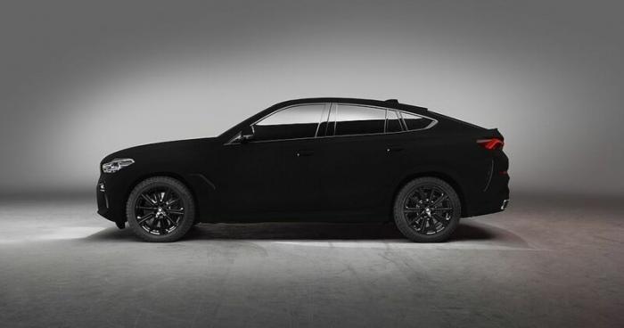BMW представляет самый чёрный внедорожник X6 Vantablack