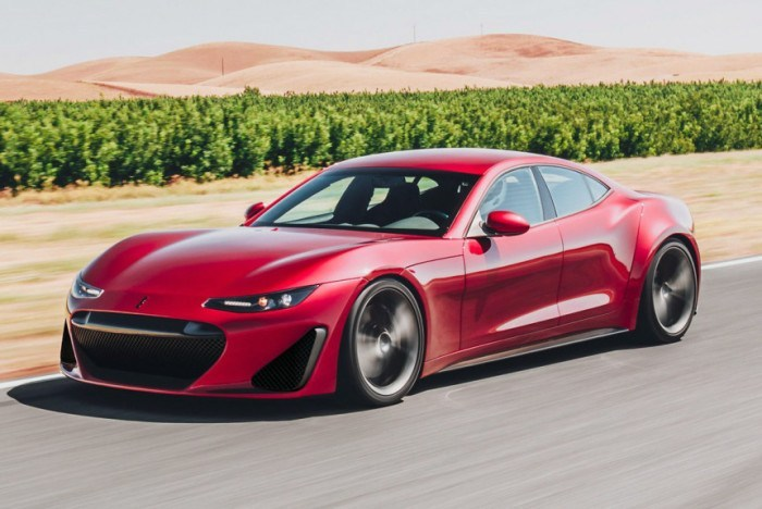 Drako GTE — электрокар мощнее Bugatti Veyron