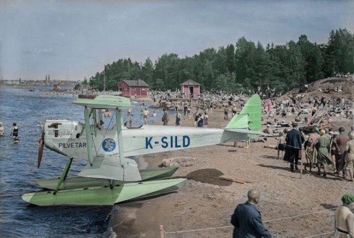 Финляндия в начале 20 века на раскрашенных фотоснимках