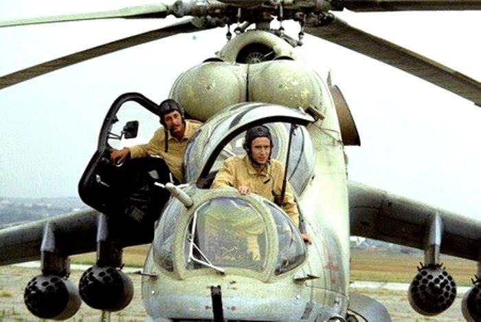 История создания легендарного боевого вертолёта Ми-24