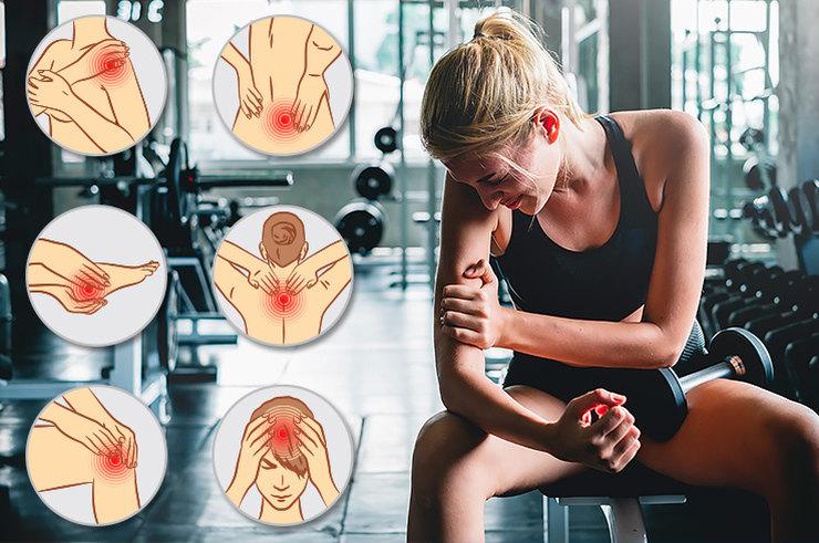 Как справиться с мышечной болью после тренировки