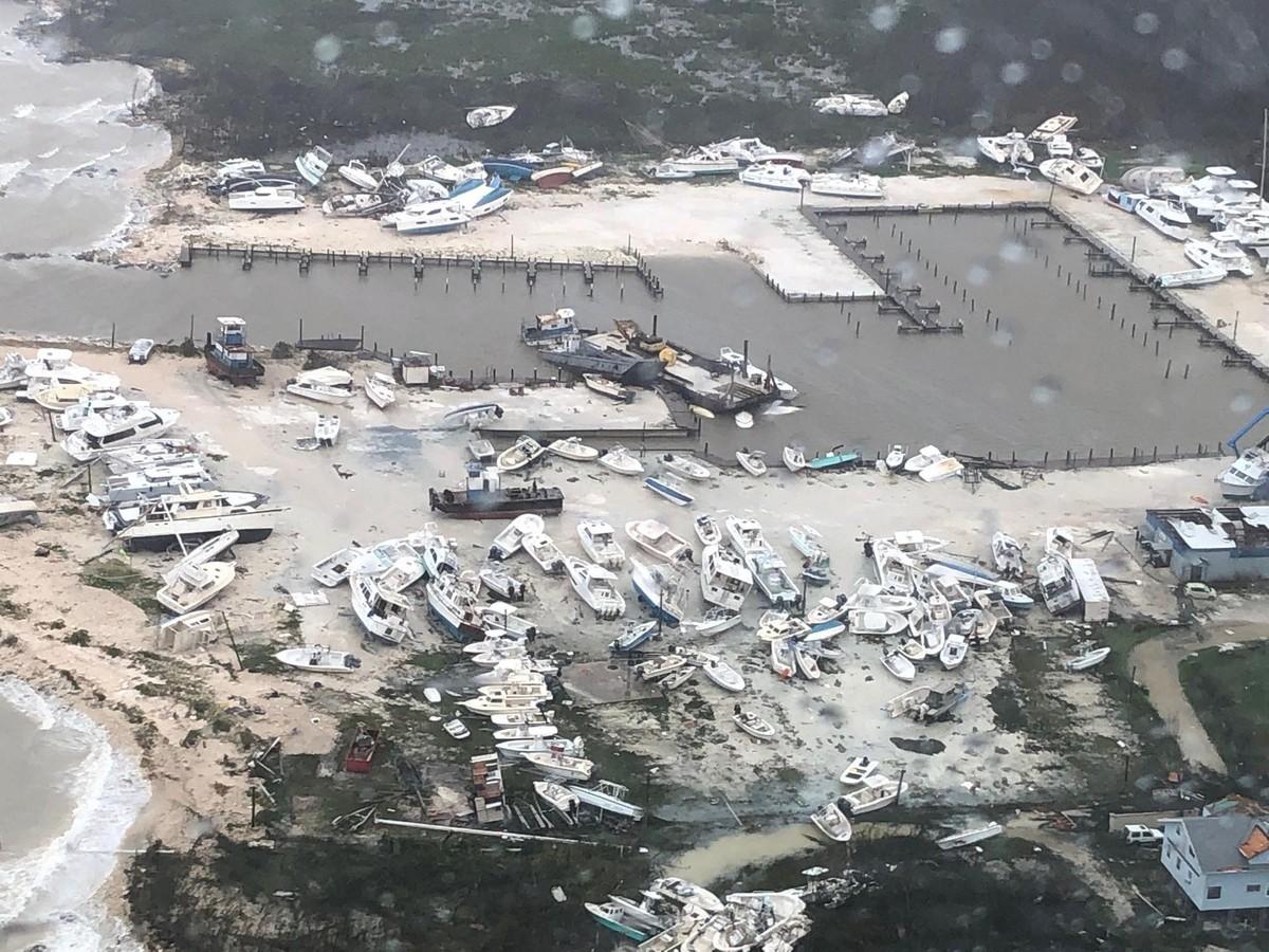 Масштабы разрушительного урагана «Дориан», обрушившегося на Багамы