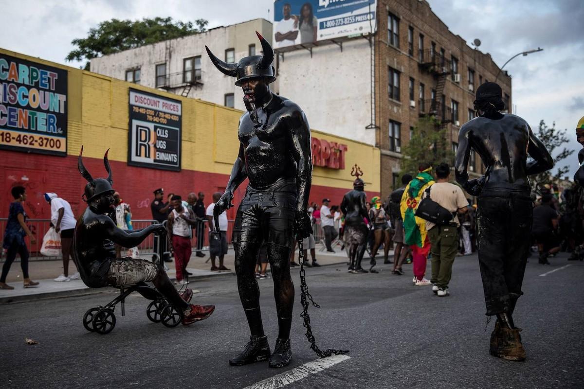 Парад «J'Ouvert 2019» прошел в Нью-Йорке