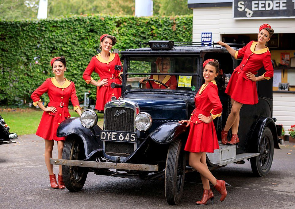 Ретро-фестиваль Goodwood Revival в Великобритании