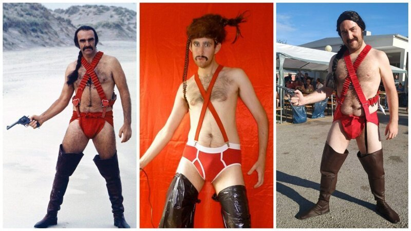 Шон Коннери в «мужском бикини» — культовый у косплейщиков