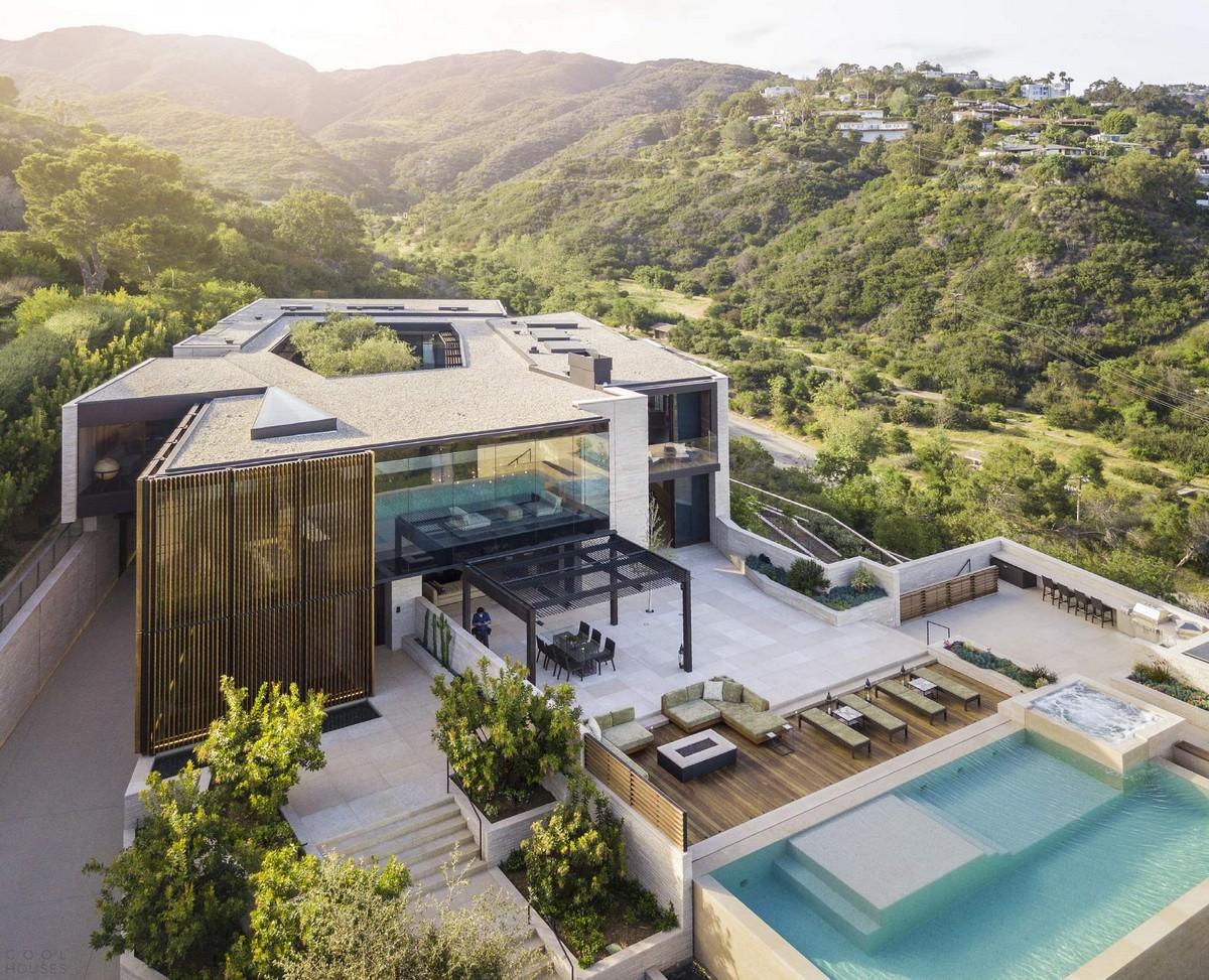 Современная семейная резиденция в Лос-Анджелесе