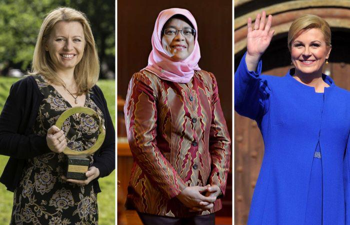 Женщины-президенты разных стран мира