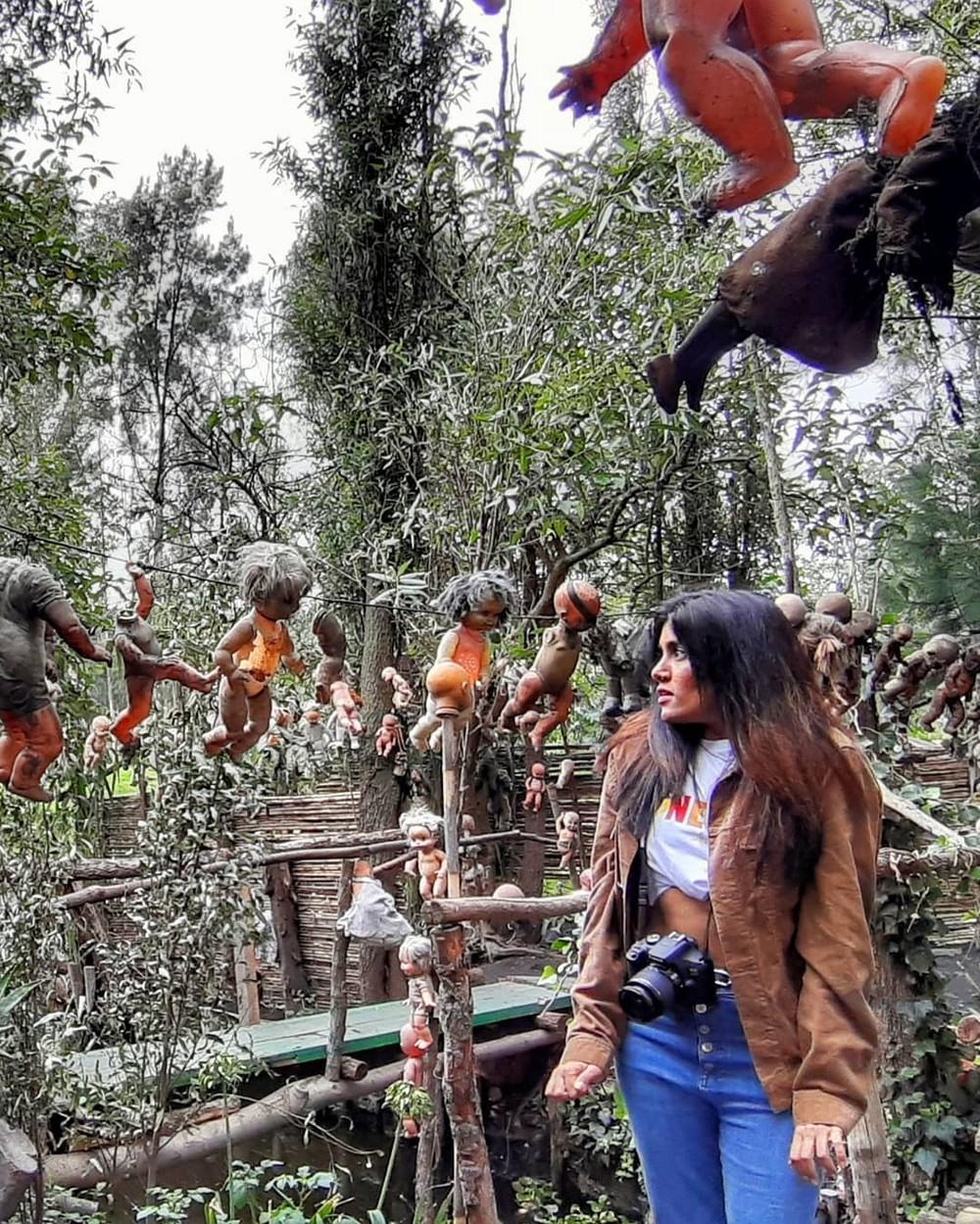 Жуткий мексиканский «остров кукол», где слышатся крики утопленников