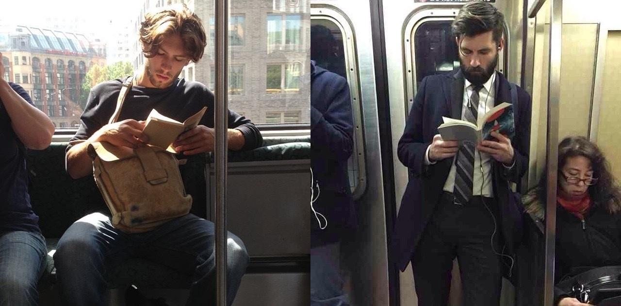 15 горячих парней с книгами из Instagram