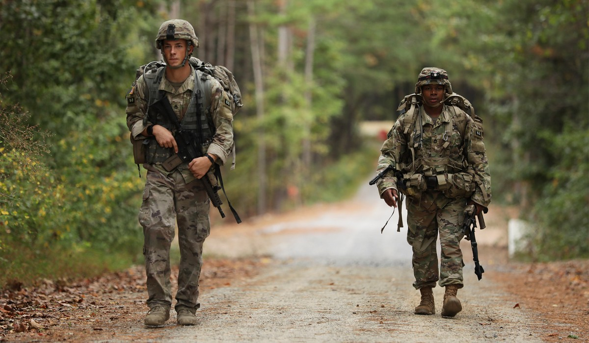 Американские солдаты в объективе военных корреспондентов