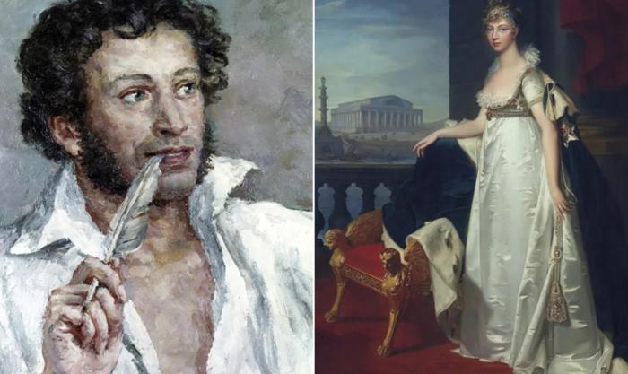 Был ли роман у Александра Пушкина и императрицы Елизаветы Алексеевны