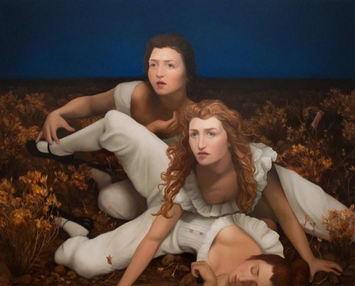 Чувственная и интимная живопись от Лауры Крифки