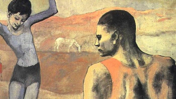 Из истории картины Пикассо «Девочка на шаре»