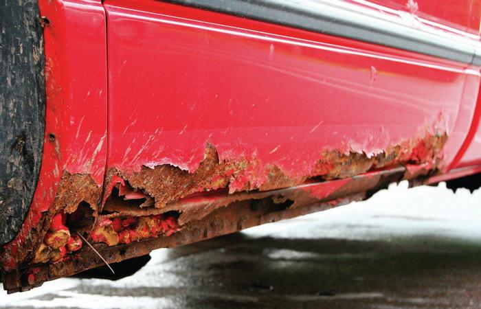 Какие автомобили чаще подвержены коррозии