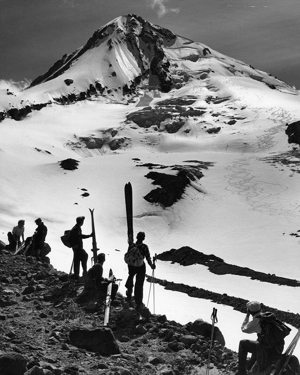 Классические лыжные и горные фотографии Рэя Аткесона
