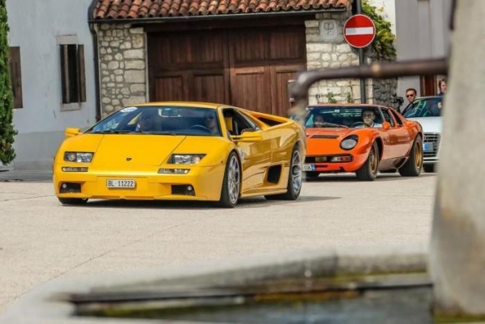 Компания Lamborghini провела собственный конкурс элегантности