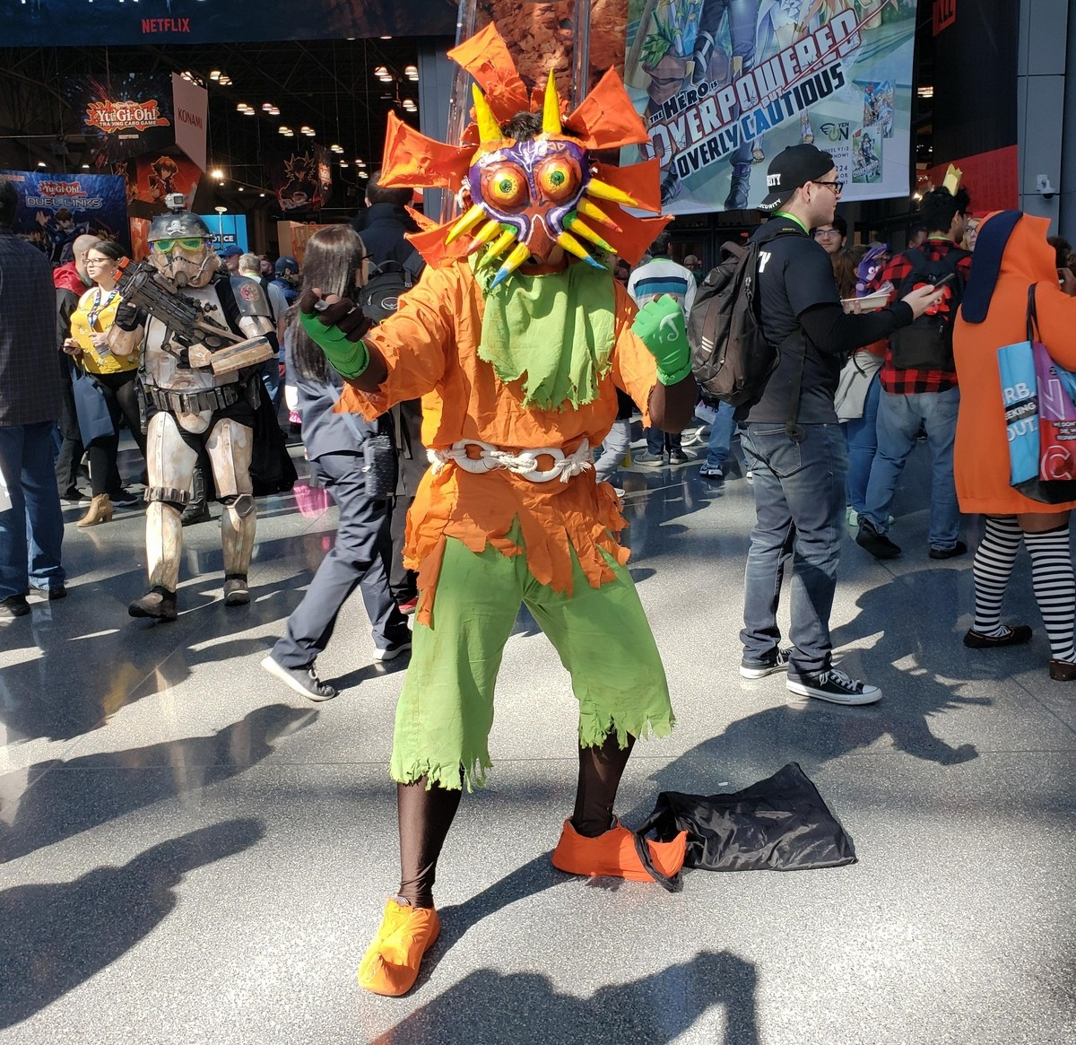 Креативные косплеи с «Comic Con-2019» в Нью-Йорке