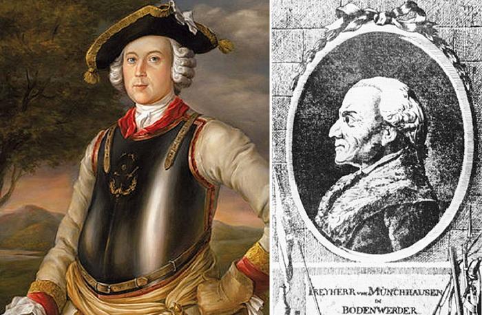 Правда и мифы об известном авантюристе Бароне Мюнхгаузене