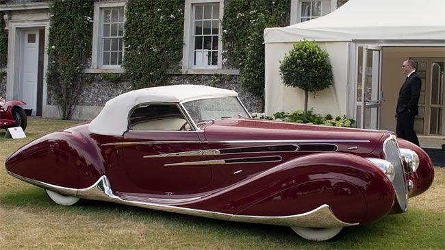Самый красивый французский автомобиль 1930-х годов