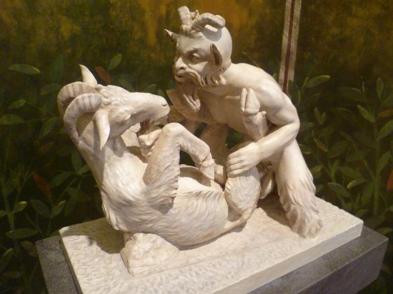 Шокирующие произведения эротического искусства древнего мира