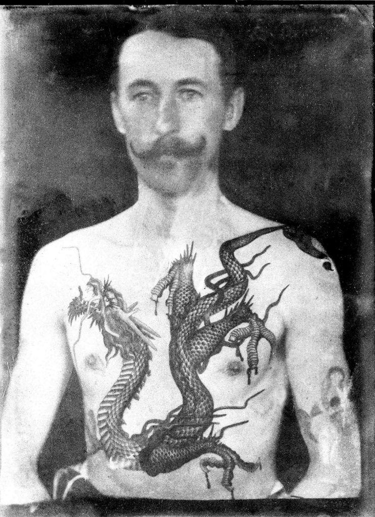 Татуировки джентльменов викторианской эпохи