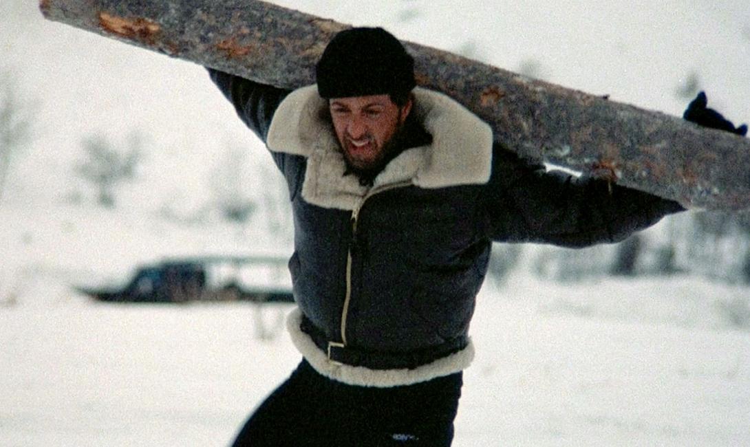 Тренировка Сталлоне для съемок легендарного Рокки