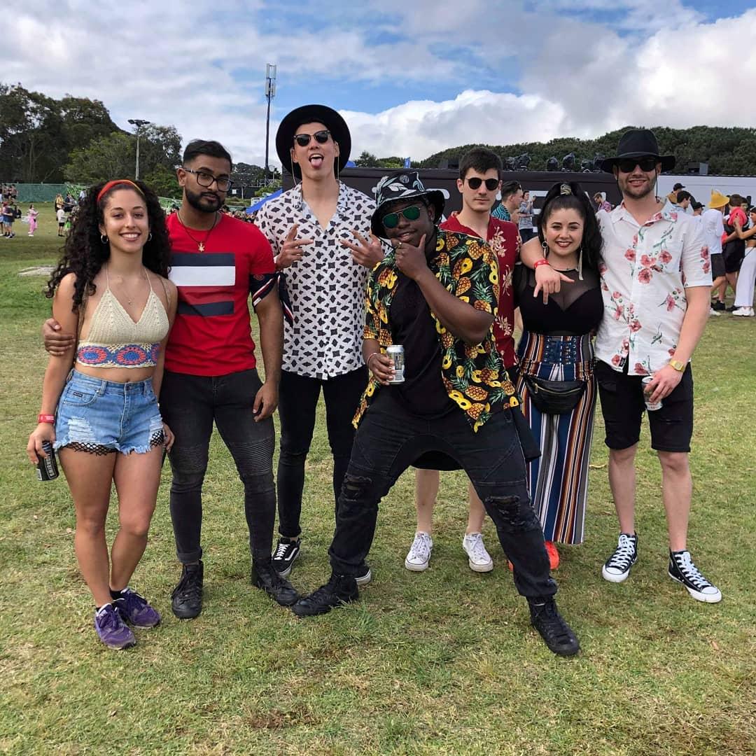 Яркие посетители музыкального фестиваля «Listen Out»