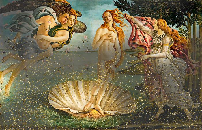Загадки и символы картины «Рождение Венеры» Ботичелли