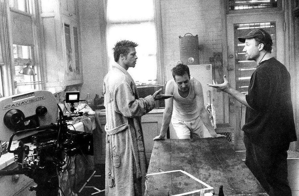 Закадровые снимки со съёмочных площадок культовых фильмов, которым уже 20 лет