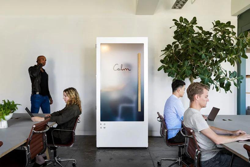 Звуконепроницаемая кабинка тишины и спокойствия для офисов