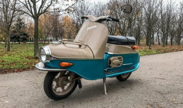 Cezeta 502 — самый желанный мотороллер в СССР