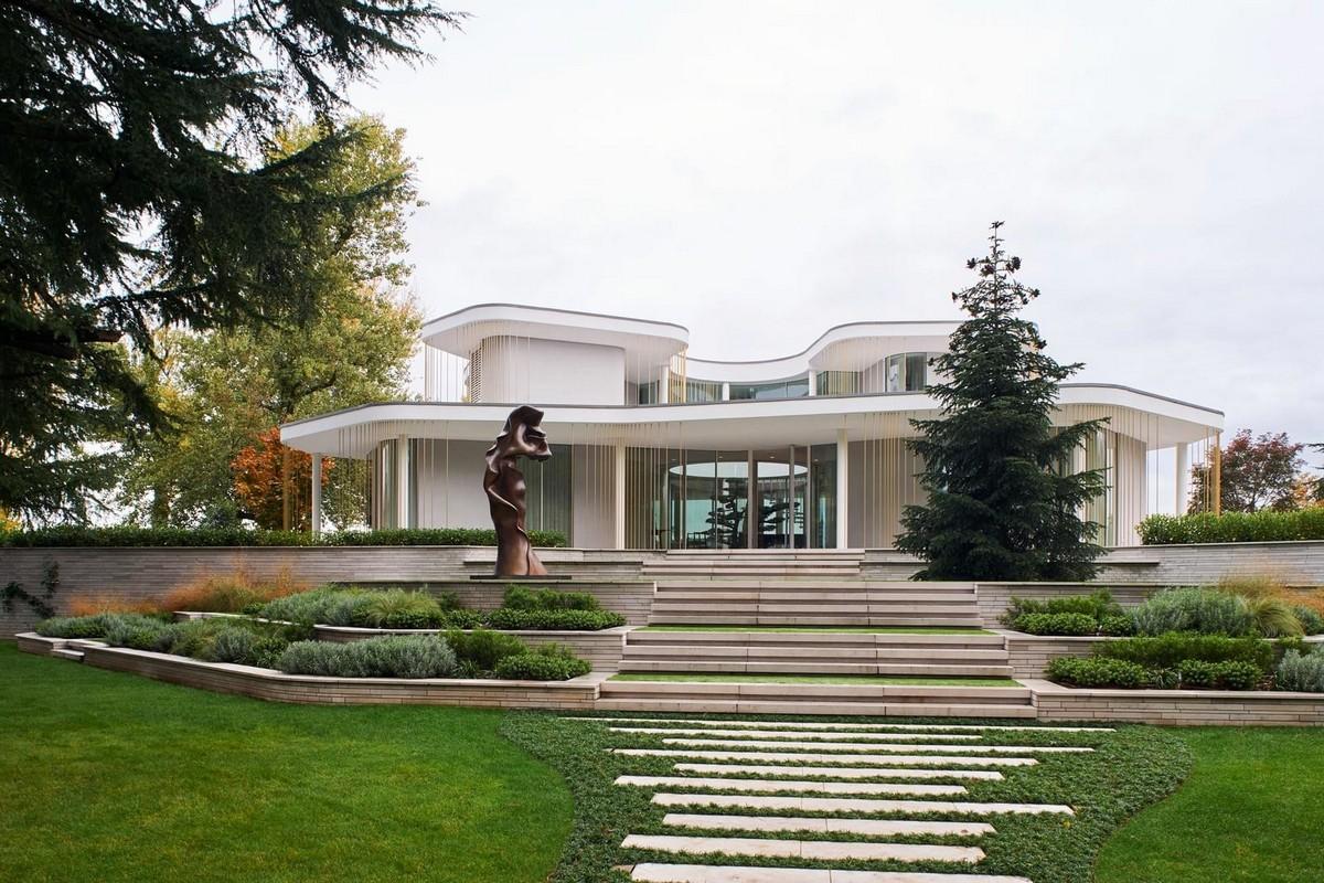 Дом на берегу озера в Италии