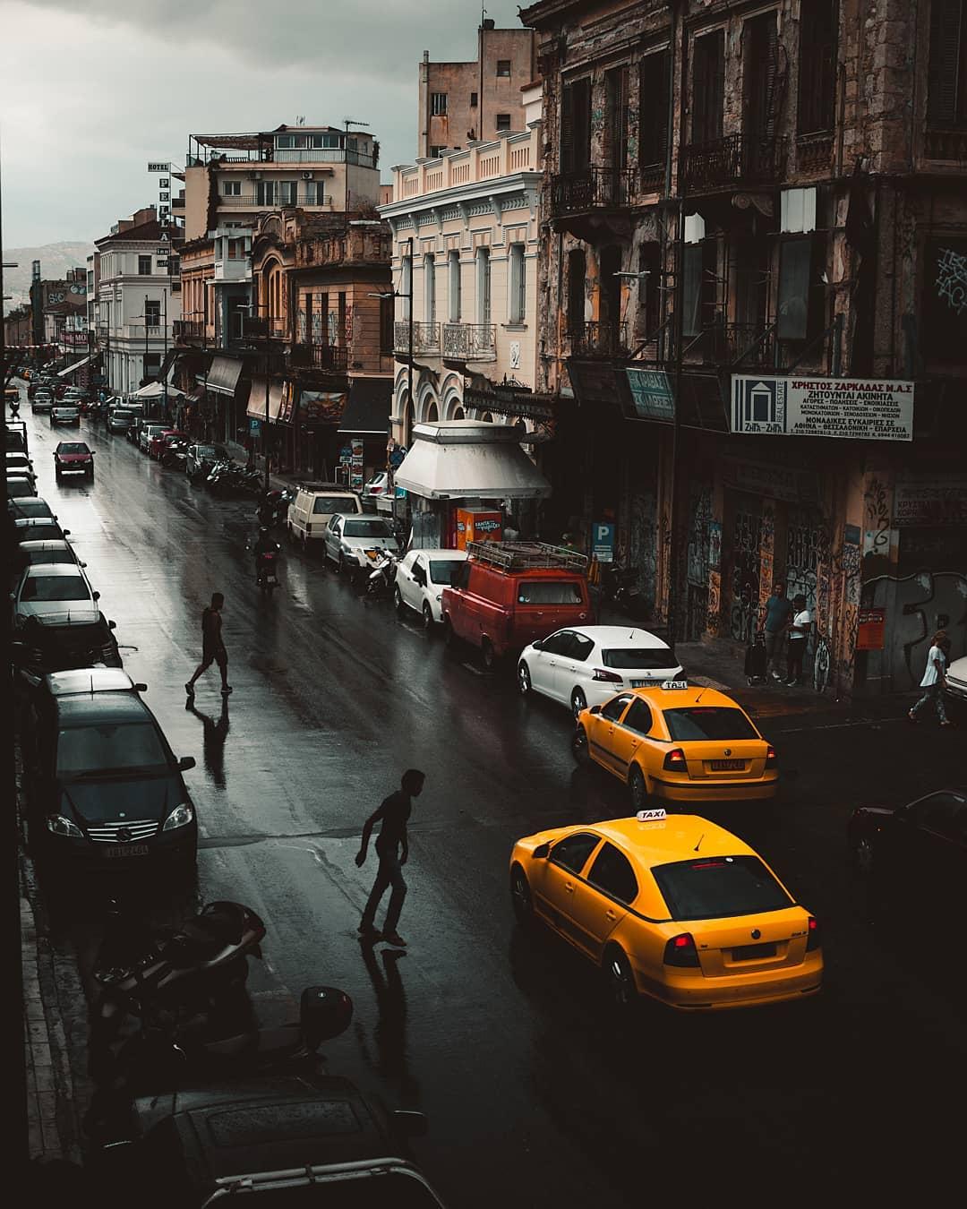 Городские и уличные снимки от Панагиотиса Коутрумписа