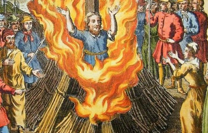 Известные учёные, чья жизнь закончилась в пламени костра