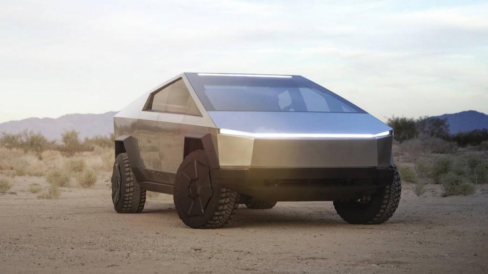 Компания Tesla продемонстрировала первый в мире кибертрак