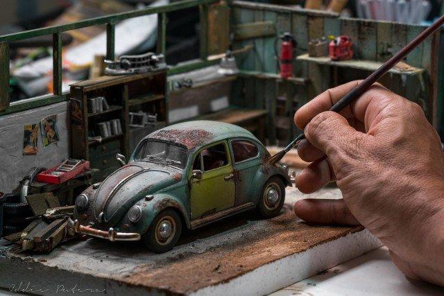 Непревзойденный мастер миниатюрных диорам Эдди Путер