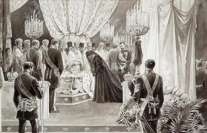 Особенности похорон русских монархов